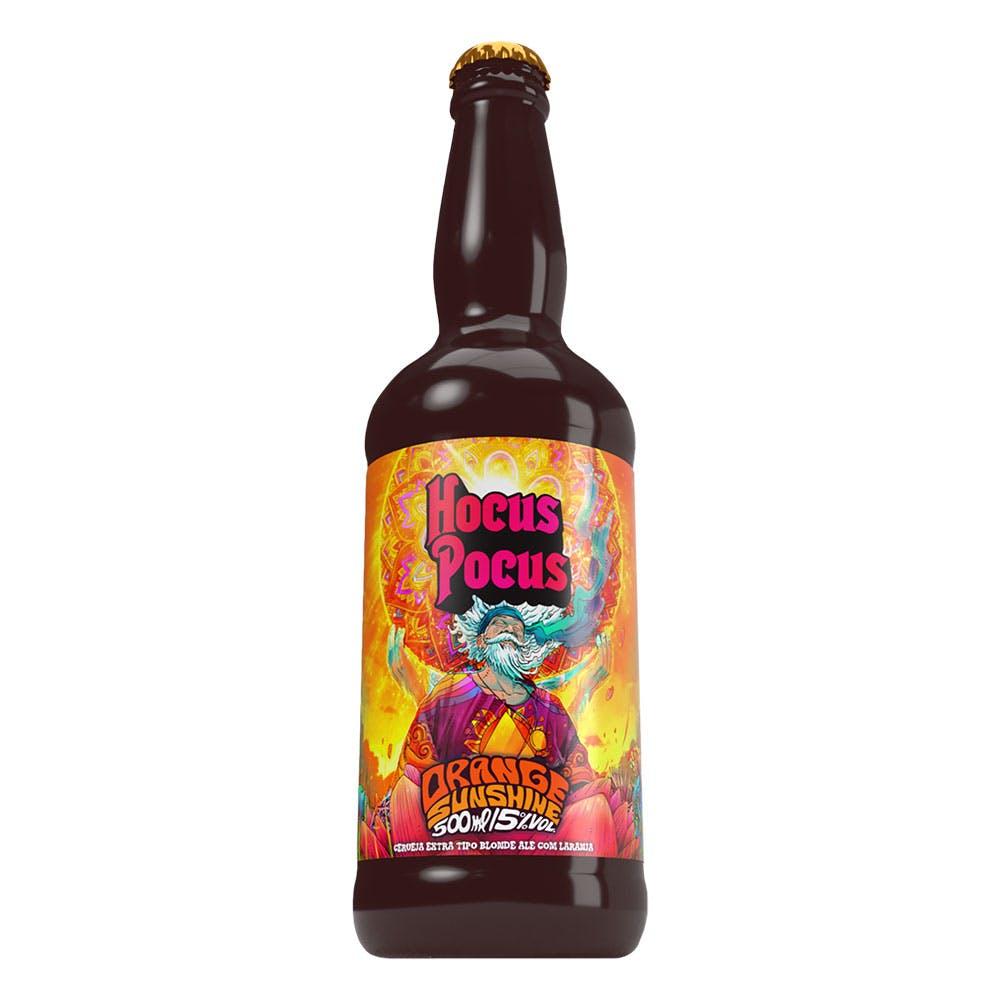 Hocus Pocus Blonde Ale com Laranja 500ml