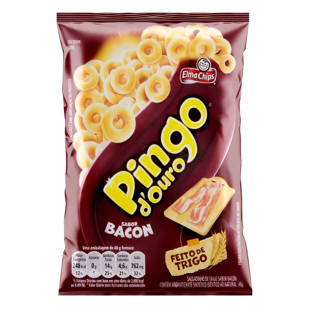 Pingo D'Ouro Sabor Bacon 48g