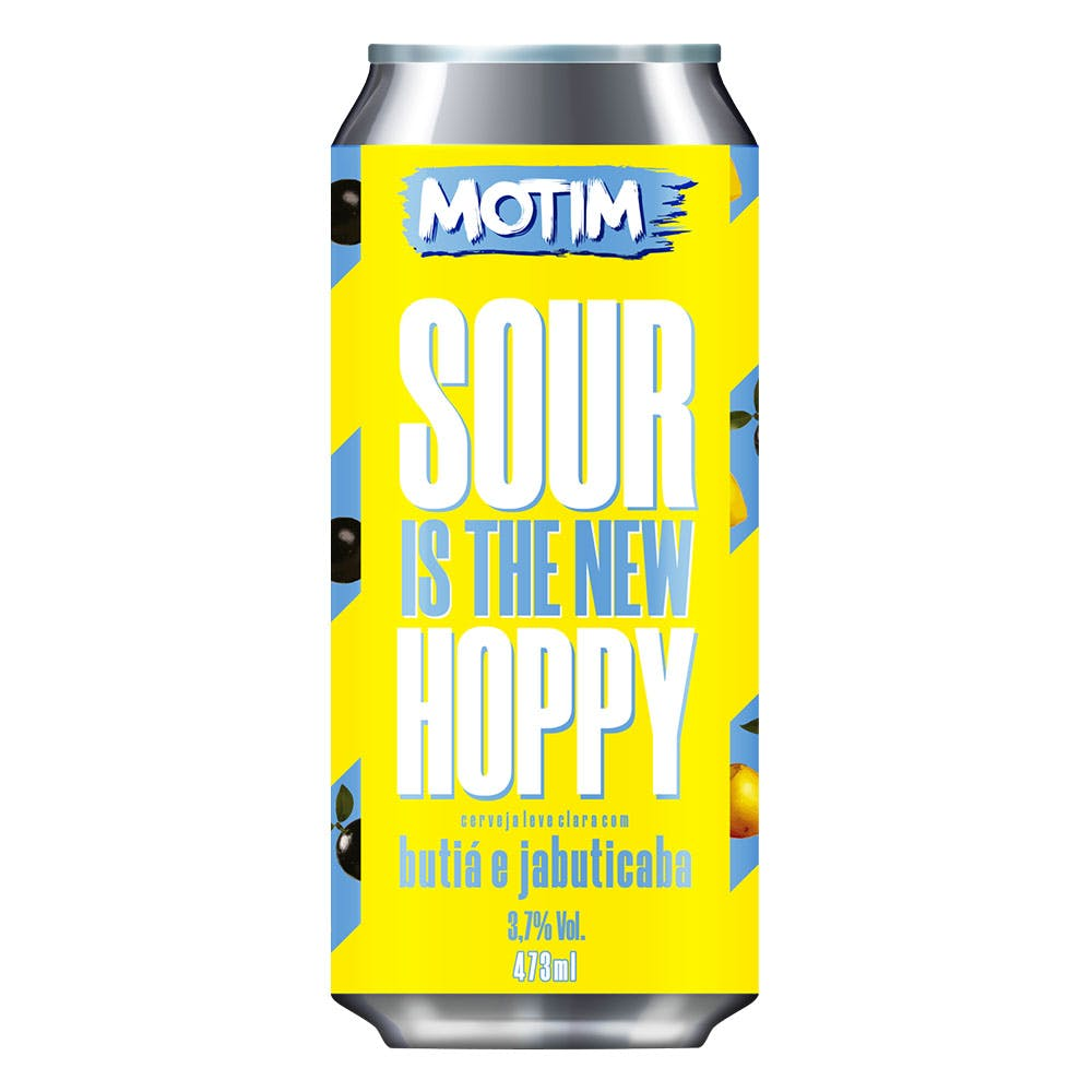 Motim Sour is The New Hoppy Jabuticaba e Butiá 473ml