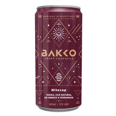 Coquetel Artesanal Bakko Sabor Vodka, Hibisco e Morango 269ml