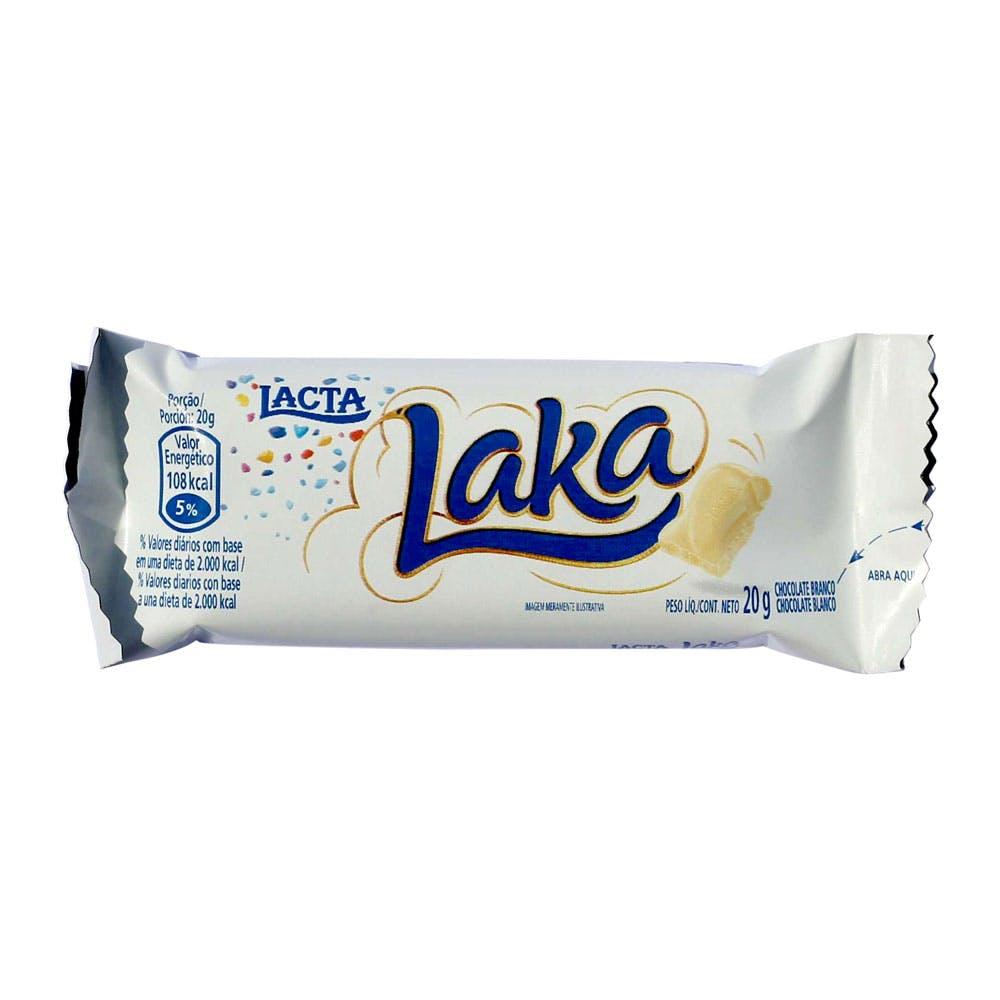 Chocolate Branco Laka Lacta 20g