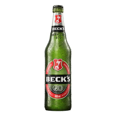 Becks 600ml | Vasilhame Incluso