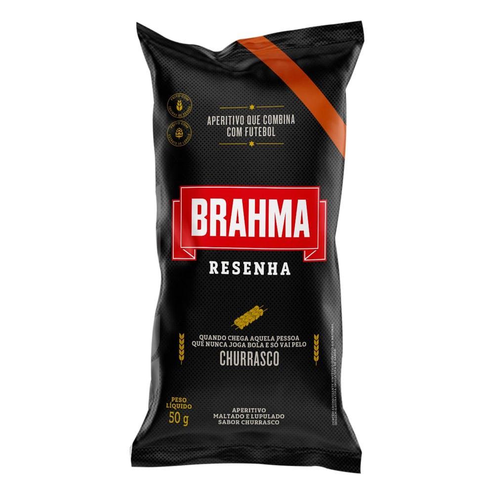 Petisco Brahma Resenha Churrasco 50g