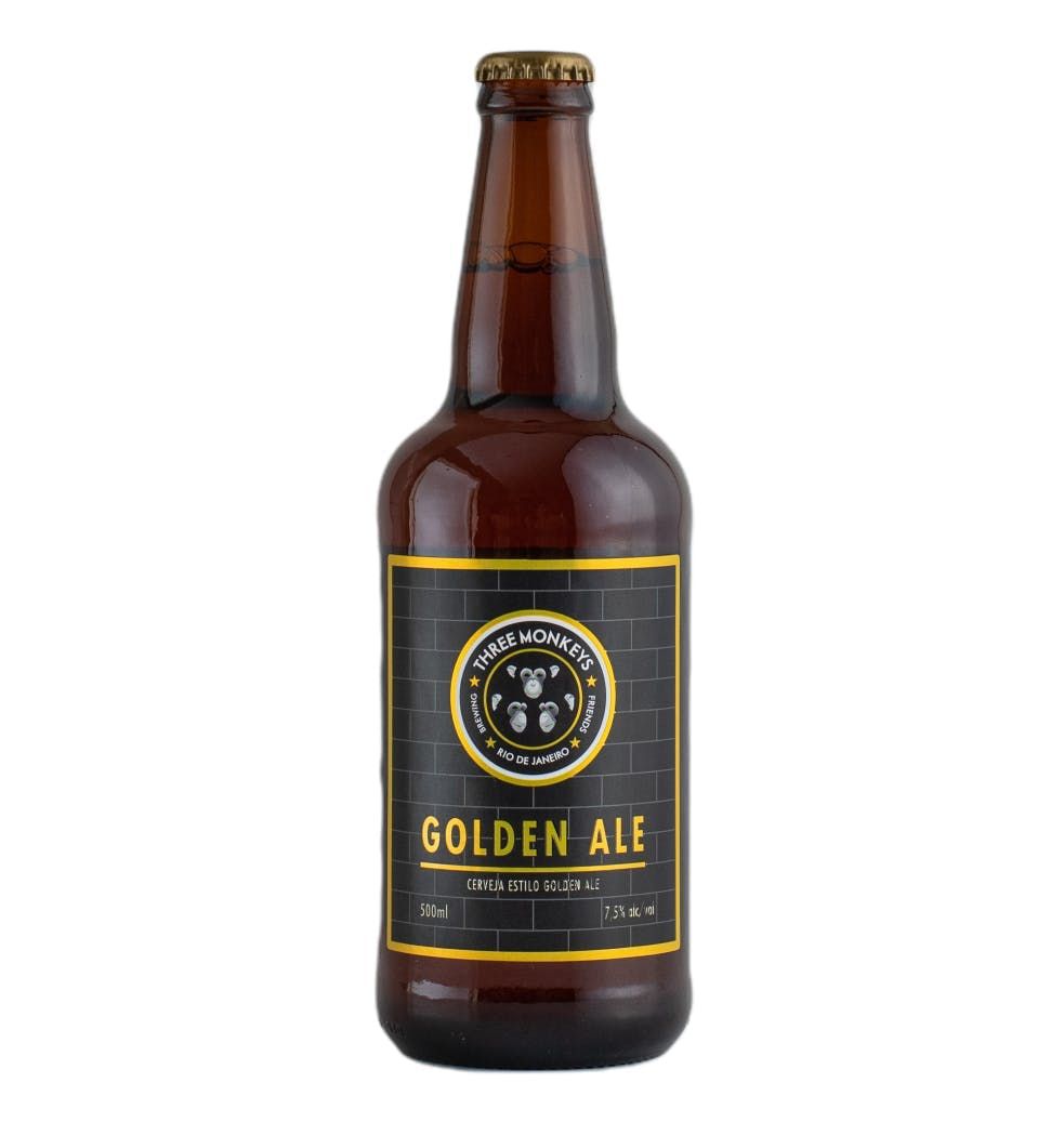Three Monkeys Golden Ale 500ml