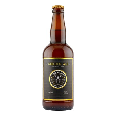 Three Monkeys Belgian Blond Ale 500ml