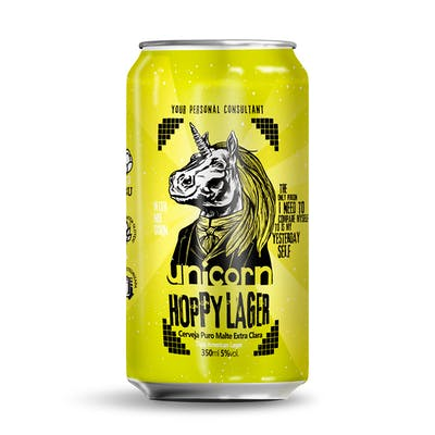 Unicorn Hoppy Lager 350ml