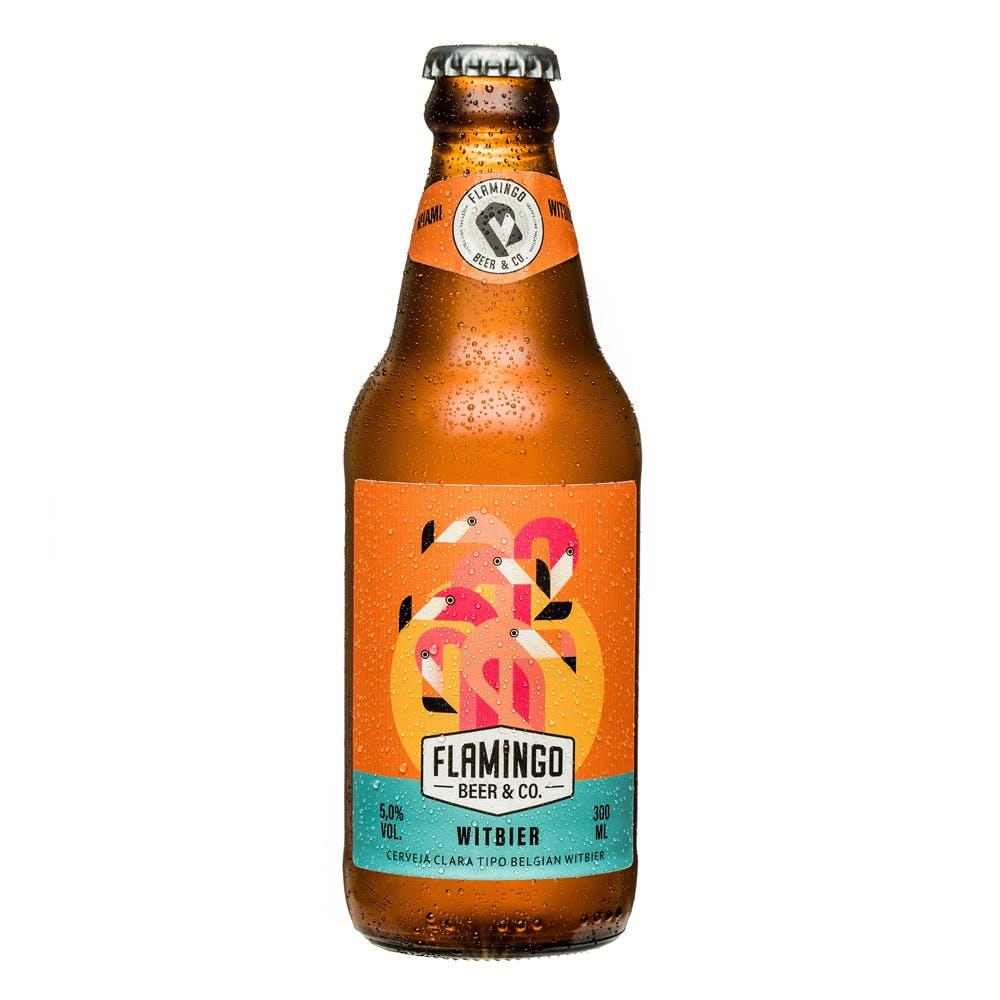 Flamingo Beer Witbier 300ml