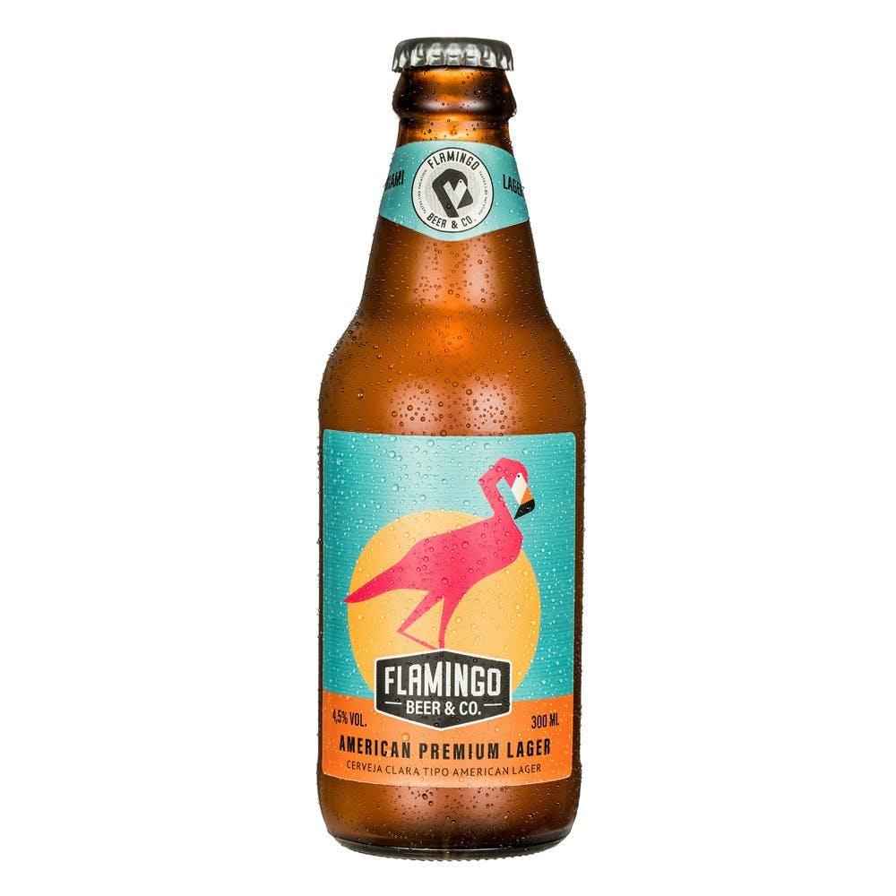 Flamingo Beer American Lager 300ml