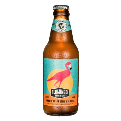Flamingo Beer American Lager 300ml