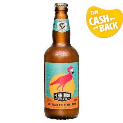 Flamingo Beer American Lager 600ml