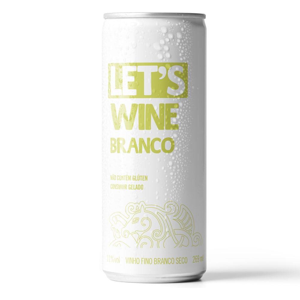 Vinho Branco Let's Wines 269ml