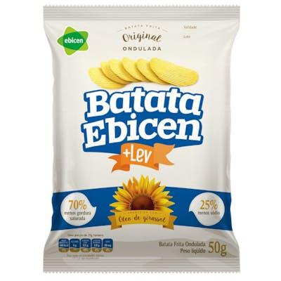 Batata Ondulada Original Ebicen 50g