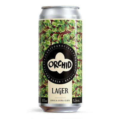 Orchid Lager 473ml