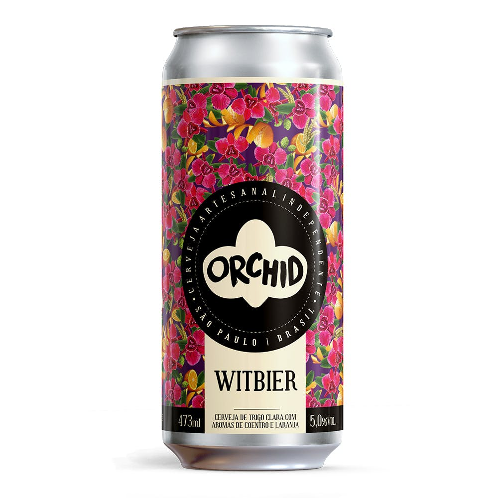 Orchid Witbier 473ml