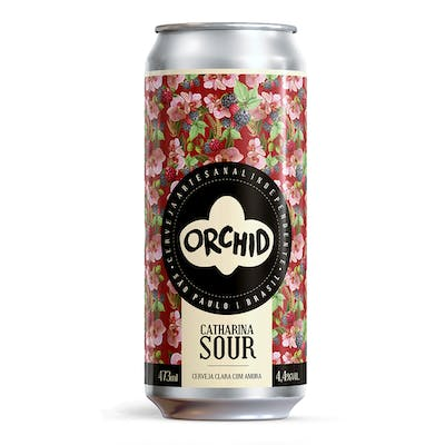 Orchid Catharina Sour com Amora 473ml