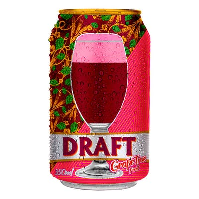 Chopp de Vinho Grape Fruit Draft 350ml