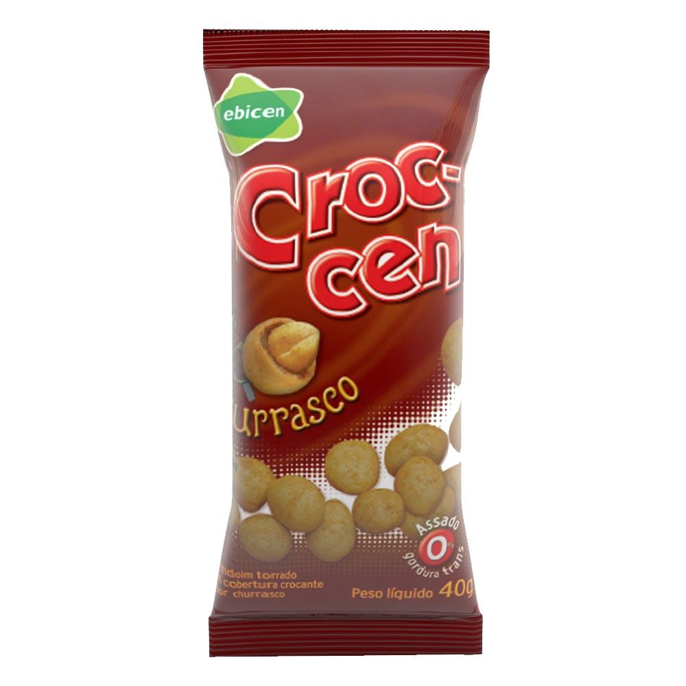Amendoim Crocante Sabor Churrasco Croc-cen 40g