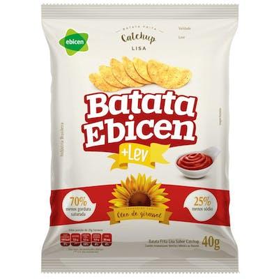 Batata Lisa Sabor Catchup Ebicen 40g