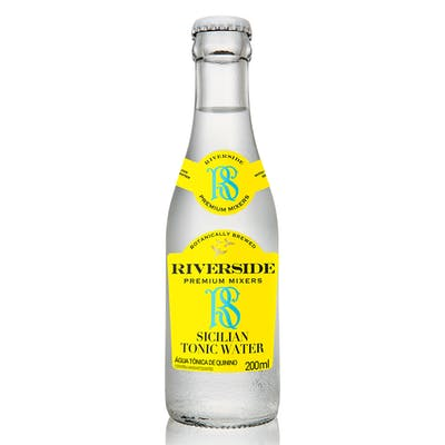 Água Tônica sabor Limão Siciliano Riverside 200ml
