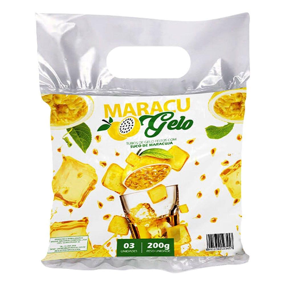 Gelo Sabor Maracujá - Maracugelo 600g