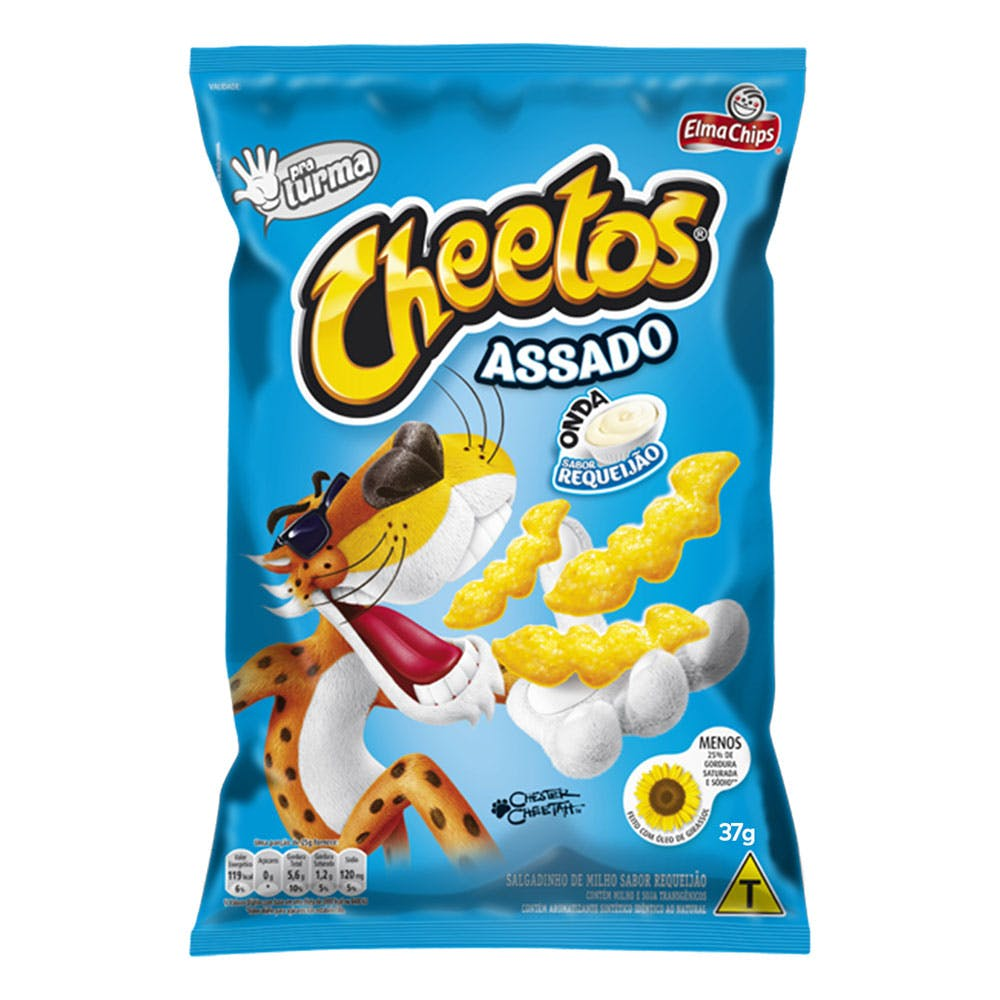Cheetos Onda Requeijão 37g