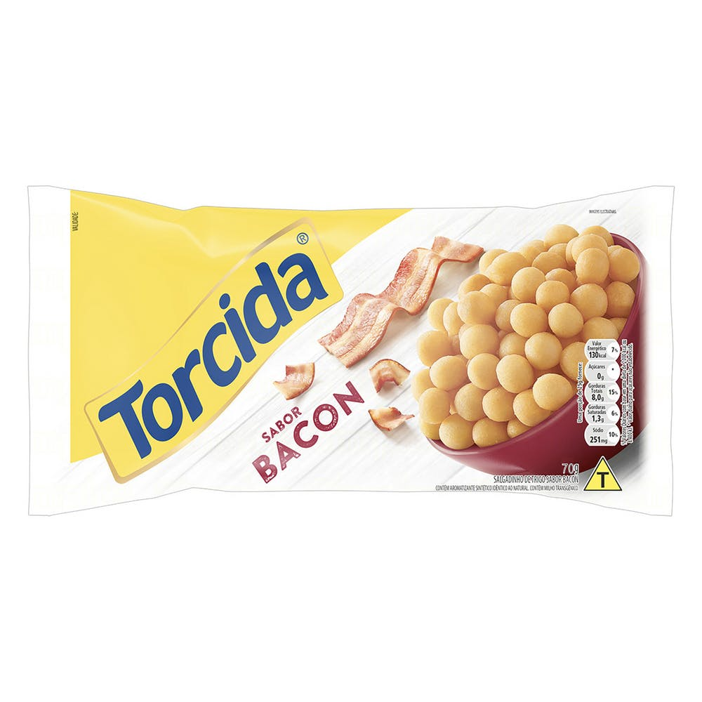 Torcida Bacon 70g