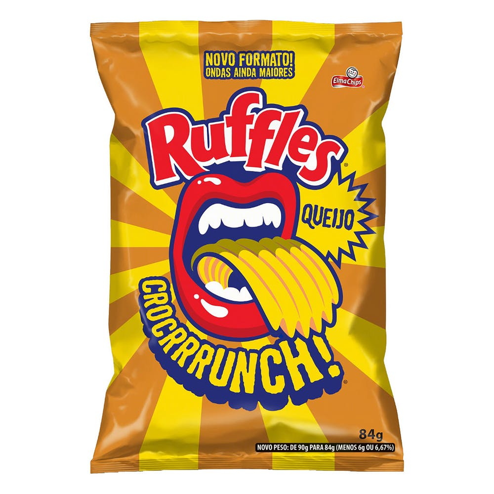 Ruffles Queijo 84g