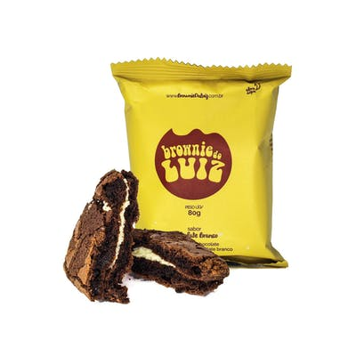 Brownie do Luiz Chocolate Branco 80g