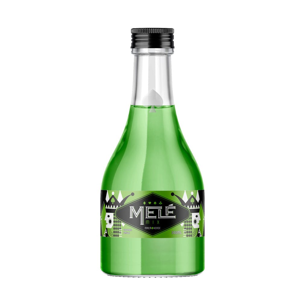 Coquetel Melé Mix Maçã Verde 300ml