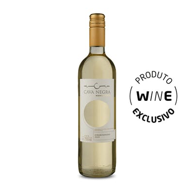 Vinho Branco Chardonnay Cava Negra 750ml