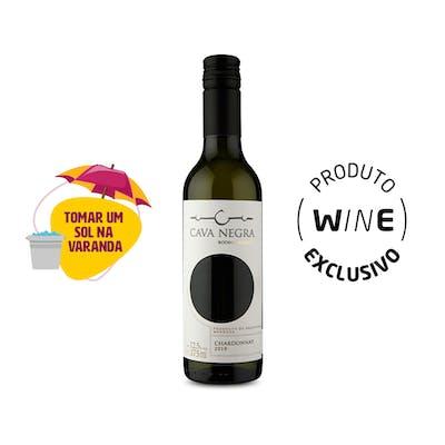 Vinho Branco Chardonnay Cava Negra 375ml