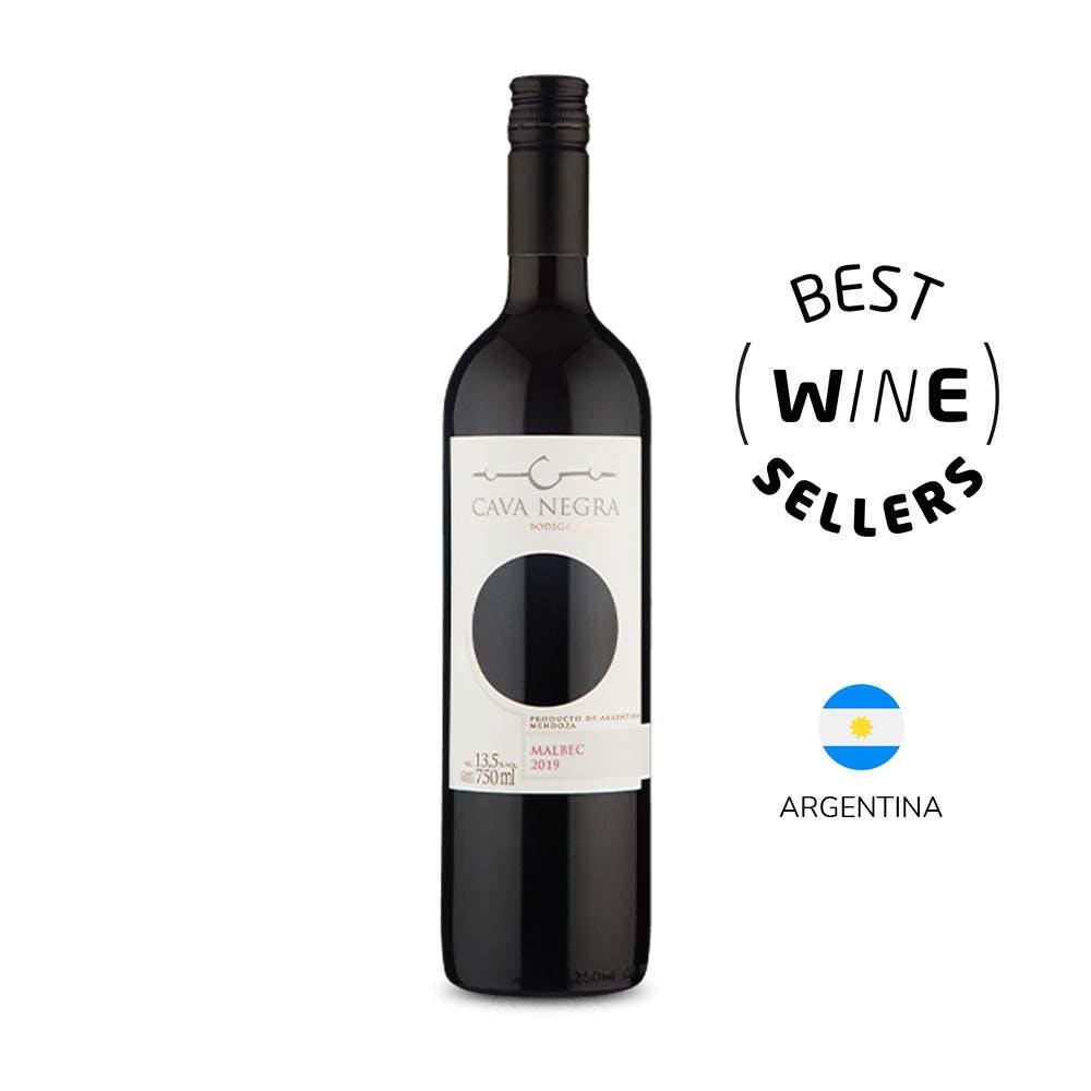 Vinho Tinto Malbec Cava Negra 750ml