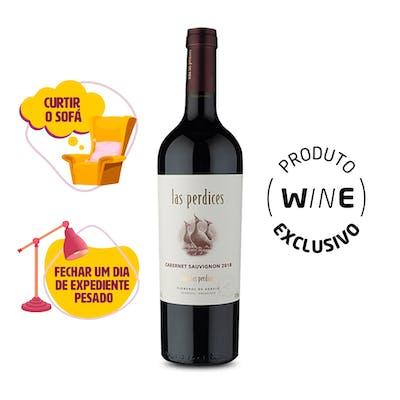 Vinho Tinto Cabernet Sauvignon Las Perdices 750ml