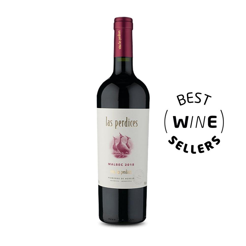 Vinho Tinto Malbec Las Perdices 750ml