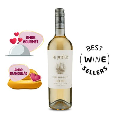Vinho Branco Pinot Grigio Las Perdices 750ml