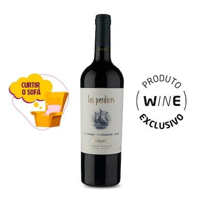 Vinho Tinto Syrah Viognier Las Perdices 750ml