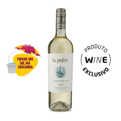 Vinho Branco Torrontés Las Perdices 750ml