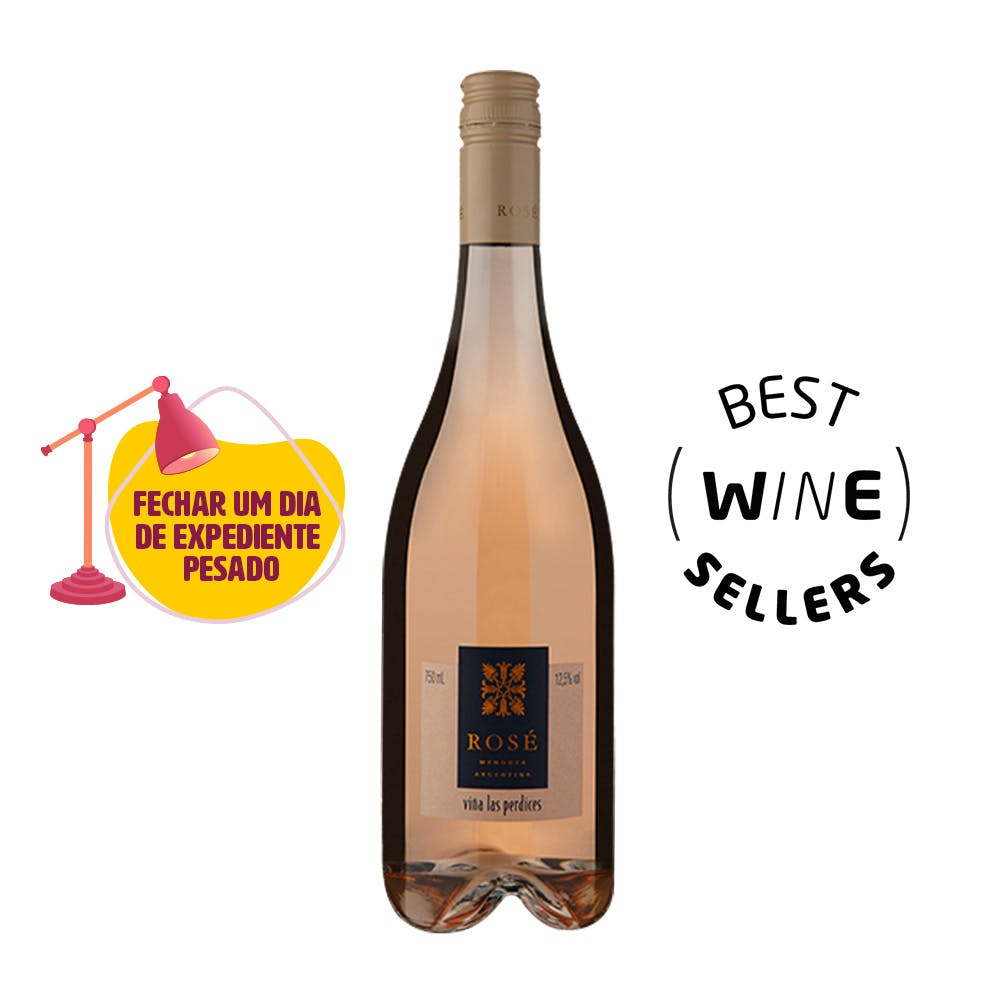 Vinho Rosé Malbec Las Perdices 750ml