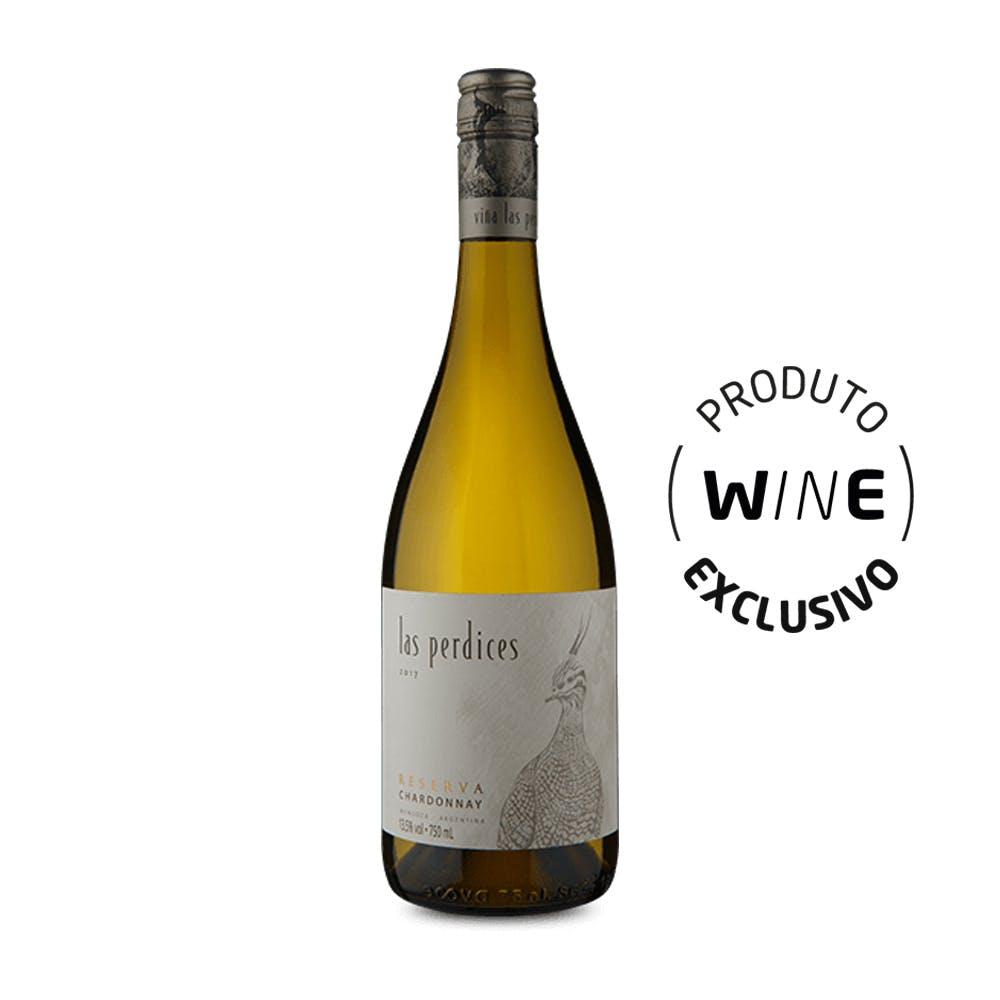 Vinho Branco Chardonnay Las Perdices 750ml