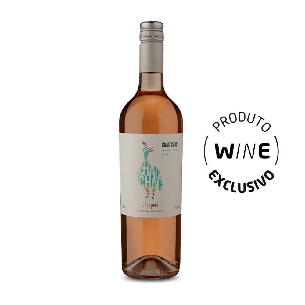 Vinho Rosé Malbec Chac Chac 750ml