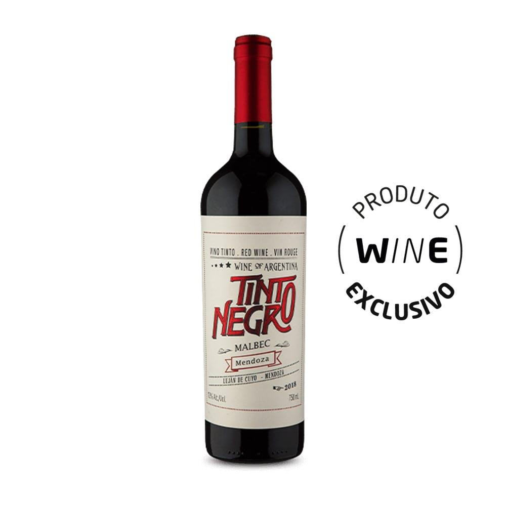 Vinho Tinto Negro Malbec Mendoza 750ml