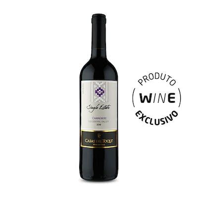 Vinho Tinto Carménère Casas del Toqui 750ml