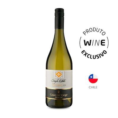 Vinho Branco Chardonnay Casas del Toqui 750ml