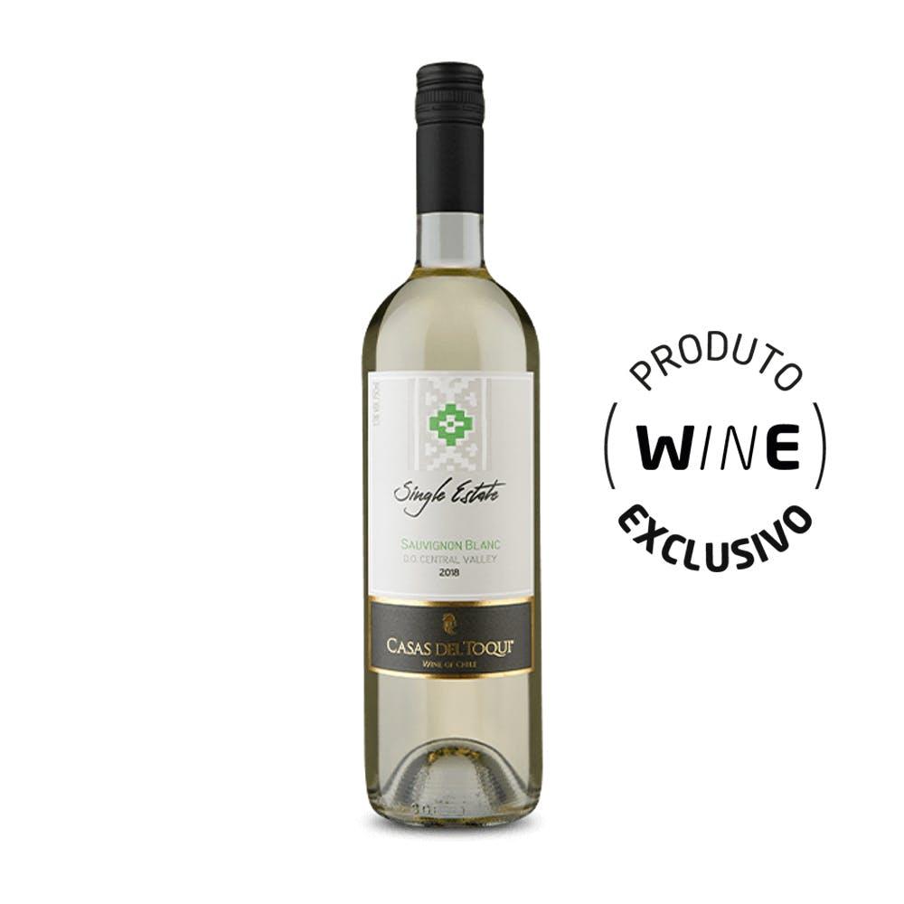 Vinho Branco Sauvignon Blanc Casas del Toqui 750ml
