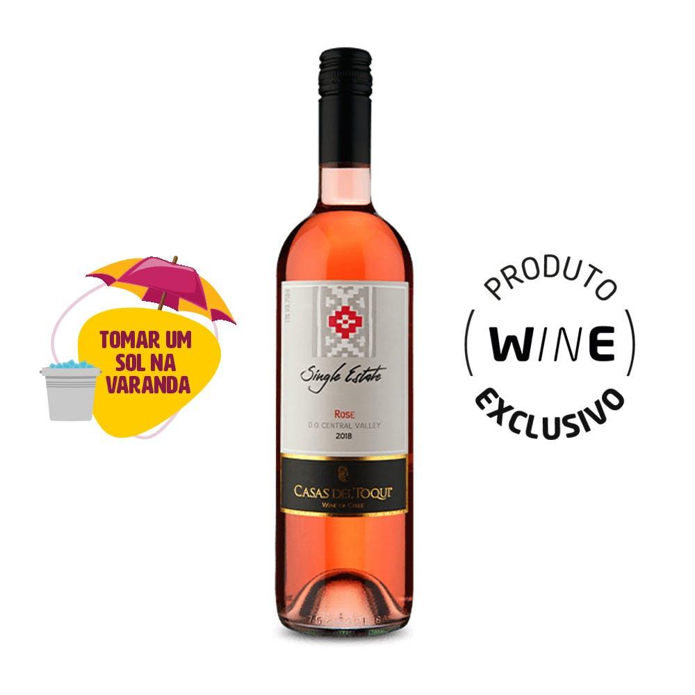 Vinho Rosé Single Estate Casas del Toqui 750ml