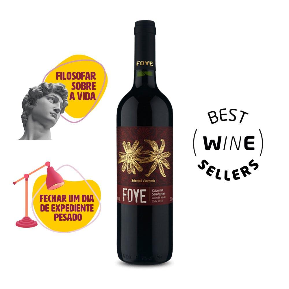 Vinho Tinto Reserva Cabernet Sauvignon Foye 750ml