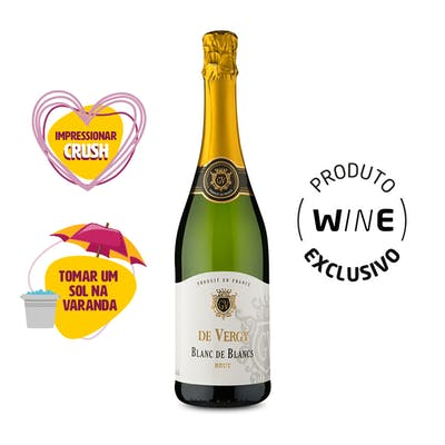 Espumante Brut Blanc de Blancs De Vergy 750ml