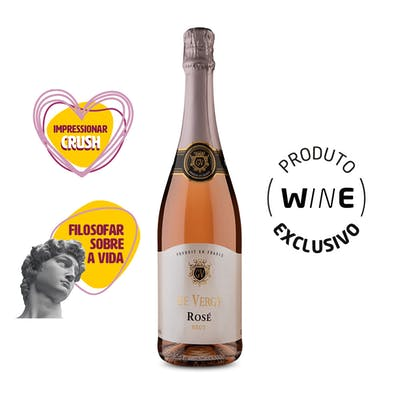 Espumante Brut Rosé De Vergy 750ml
