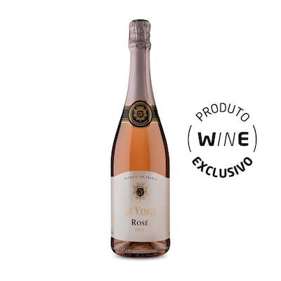 Espumante Brut Rosé De Vergy 750ml