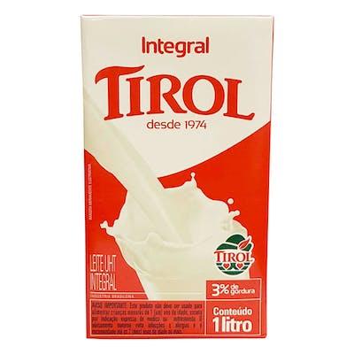 Leite Tirol Integral 1L
